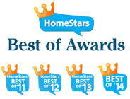Clarke Basement Systems awarded with the Home Stars Awards 4 years in the row.